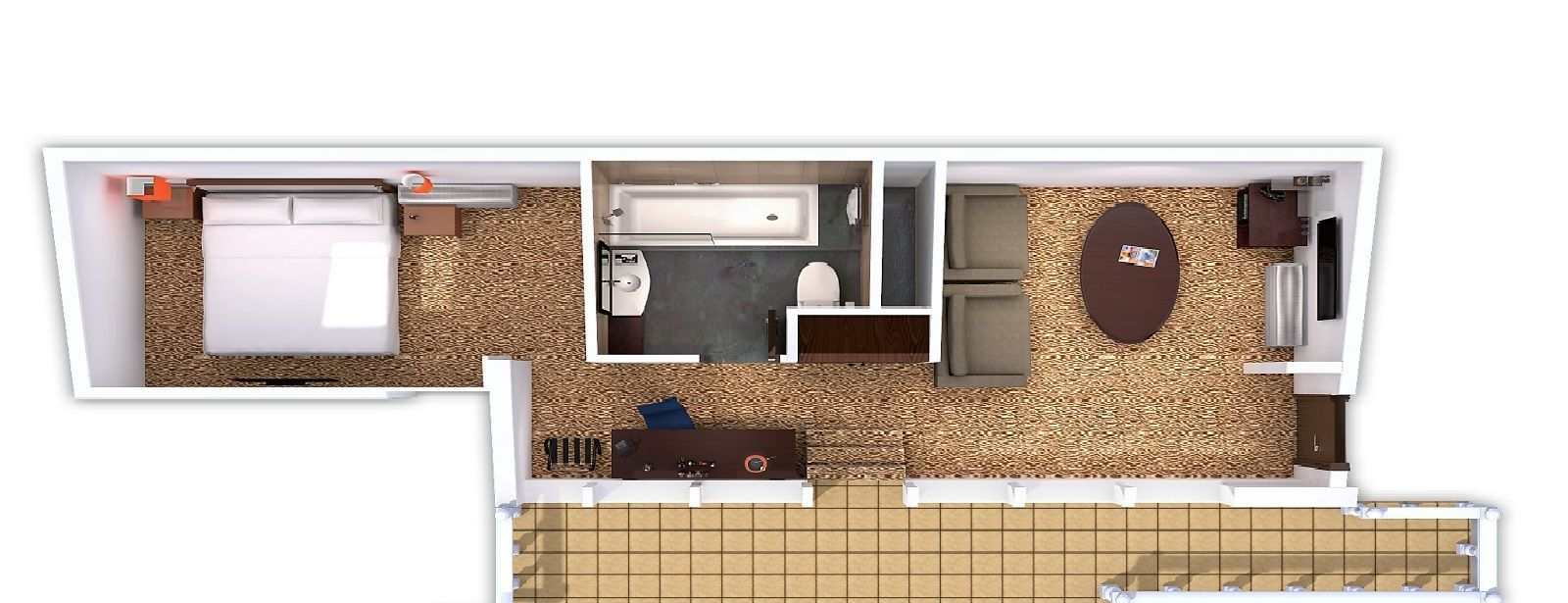Club Premium Suite - floorplan