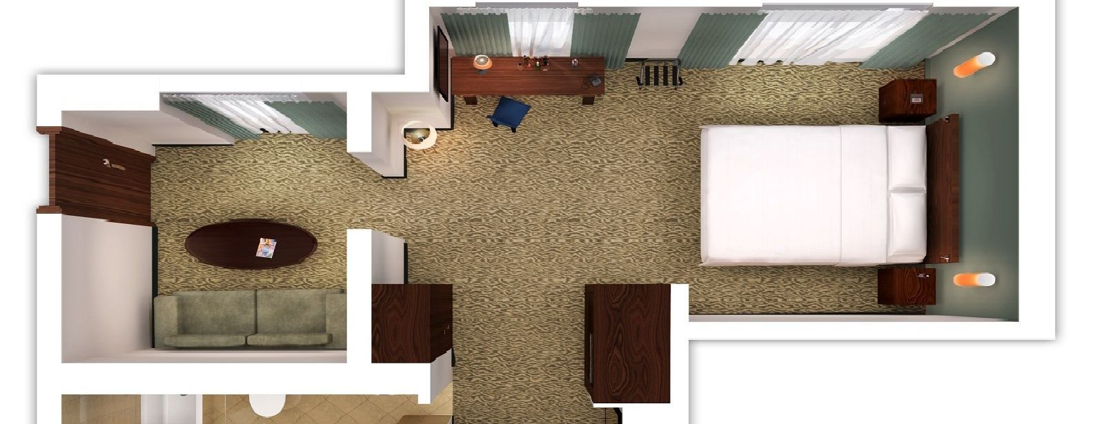 Family Suite - floorplan
