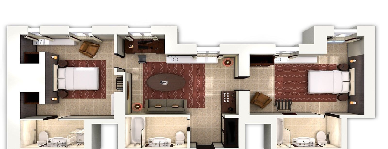 Grand Premium Suite - floorplan